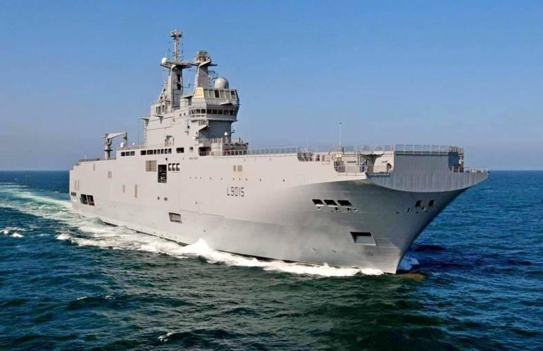 «Рособоронэкспорт»: Россия поставит Египту оборудование для «Мистралей»