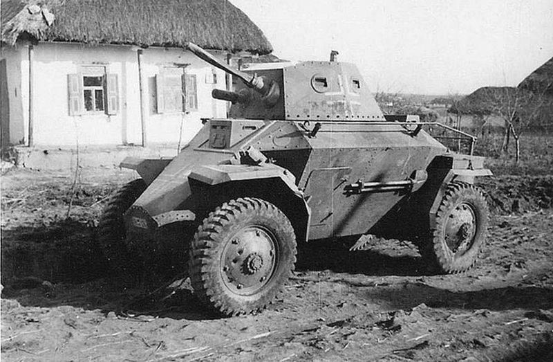 Колёсная бронетехника времён Второй мировой. Часть 10. Венгерский бронеавтомобиль 39M «Csaba»