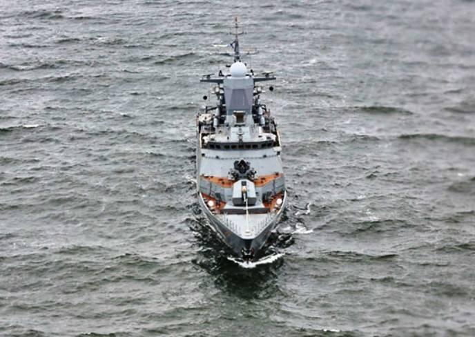 На Балтийском флоте стартовала активная фаза учения разнородных сил