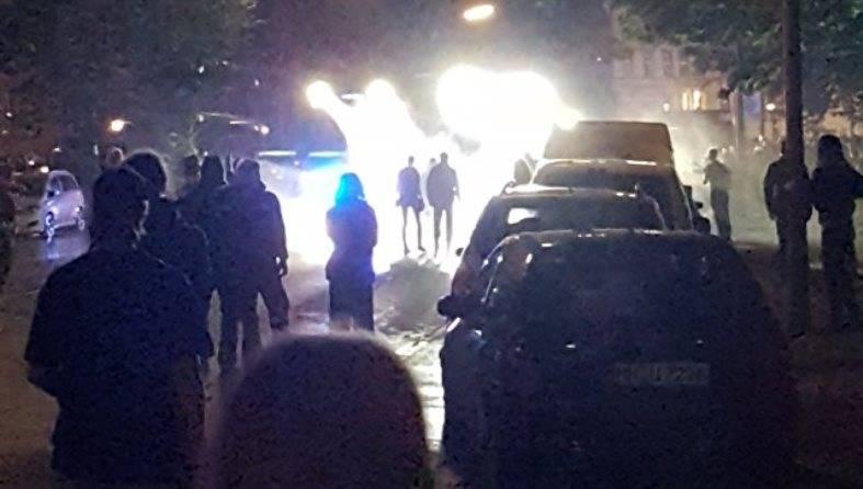 Десятки полицейских получили ранения в Гамбурге в ходе акций антиглобалистов