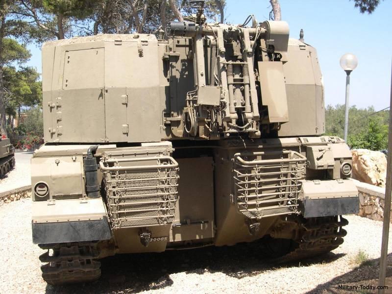 САУ. Самоходная артиллерийская установка «Шолеф» (Израиль)