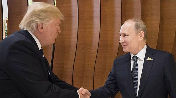 Путин и Трамп. Встреча на Эльбе