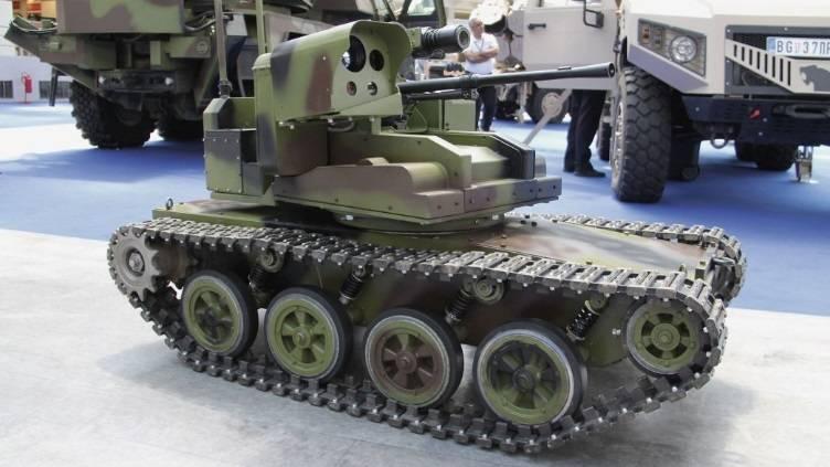 Sırbistan insansız kara savaş aracının ilk prototipini tanıttı