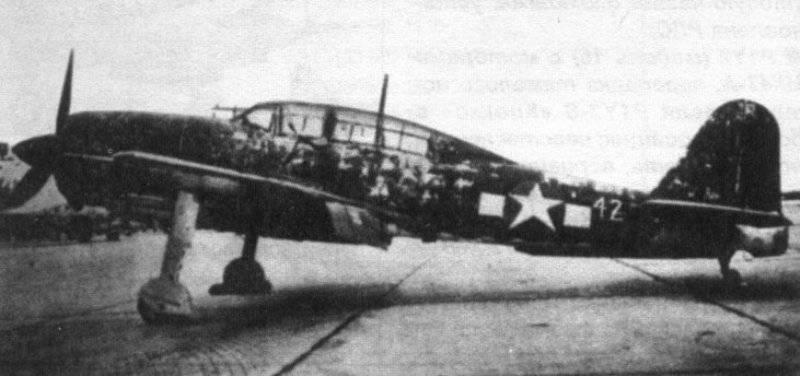 Палубная авиация во Второй мировой войне: новые самолёты. Часть VIII(b)