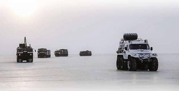 Арктика с полным приводом
