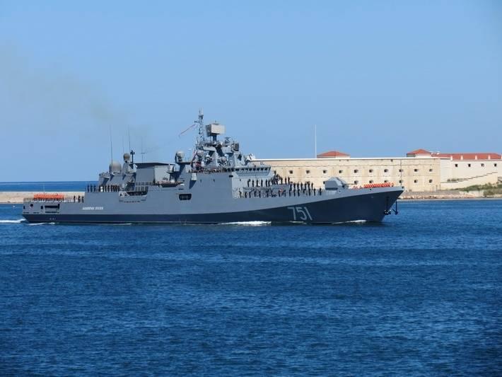 «Адмирал Эссен» направлен к берегам Сирии
