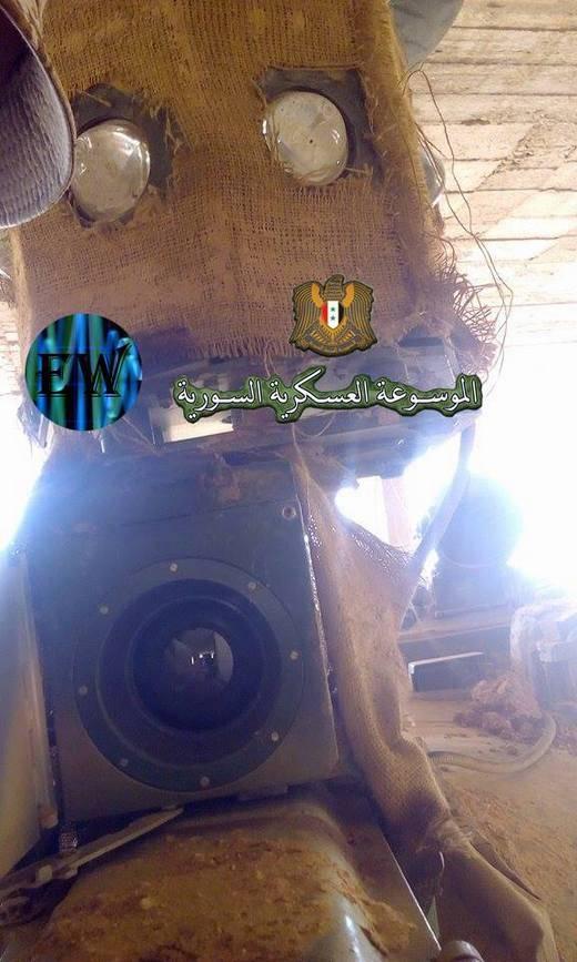 В Сирии замечен Т-55 с рекордной дальностью обзора