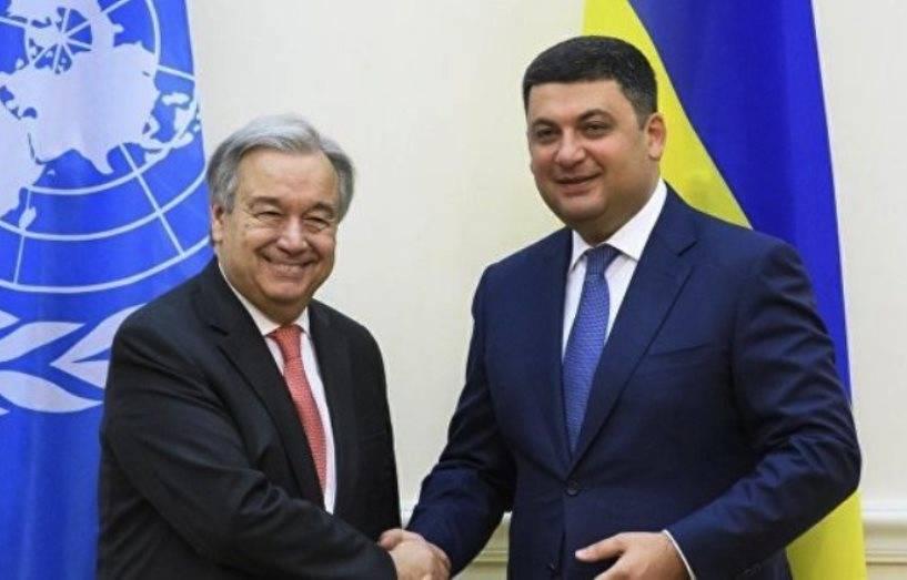 Порошенко обсудит с генеральным секретарем ООН ситуацию наДонбассе