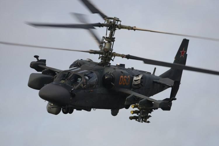 """Ка-52 """"Аллигатор"""" оснастят складывающимися лопастями"""