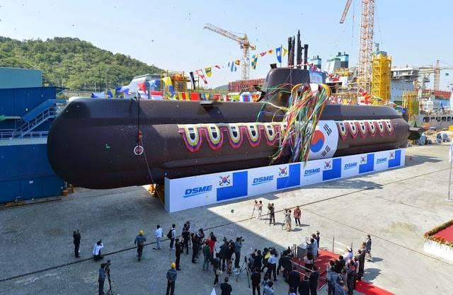 Южной Корее передана шестая немецкая субмарина проекта 214