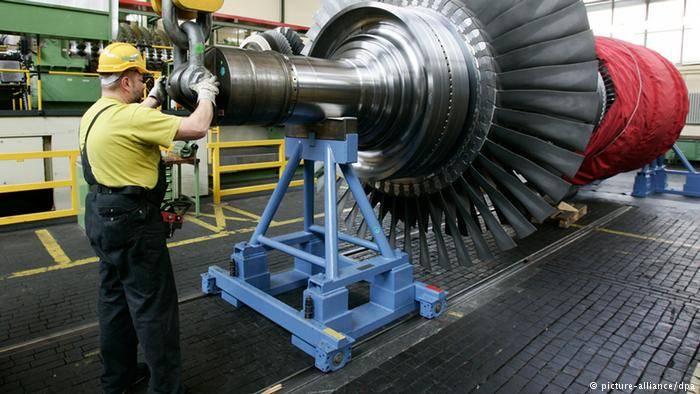 Bem, para nossas turbinas!