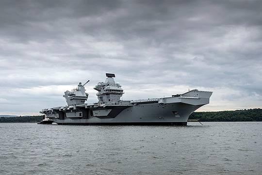 СМИ: Дорогие британские авианосцы беззащитны перед дешёвыми российскими ракетами