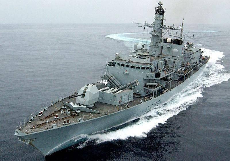 Британский ракетный фрегат вышел на испытания после модернизации