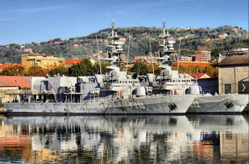 Ирак получил изИталии заказанные в1980 году корабли