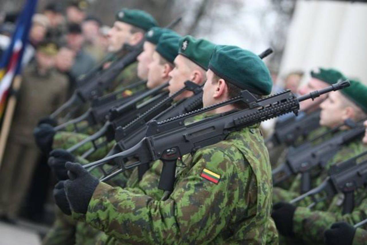 «Игра мускулами» литовской армии