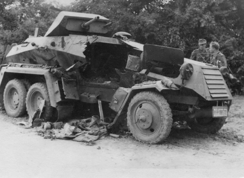 Колёсная бронетехника времён Второй мировой. Часть 11. Немецкие тяжёлые бронеавтомобили Sd.Kfz.231 (6-Rad)