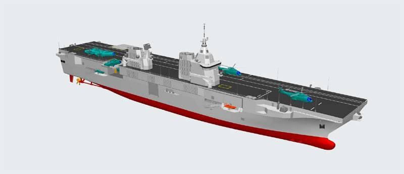 На итальянской верфи в Кастелламаре-ди-Стабия начато создание универсального десантного корабля (LHD)