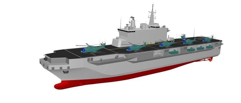 「Начато строительство итальянского универсального десантного корабля」的圖片搜尋結果