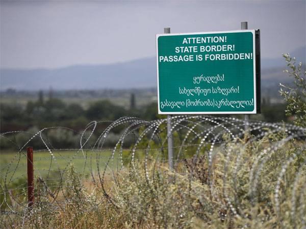 Грузия: Россия двигает границу вглубь грузинской территории