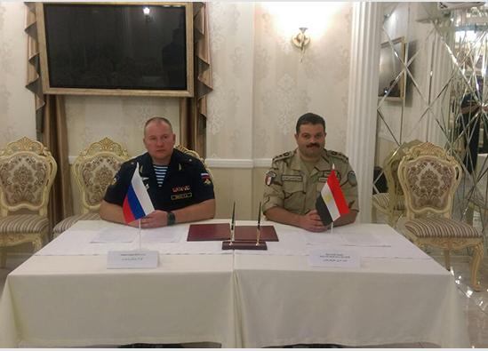 Российские и египетские десантники договорились о проведении совместных учений