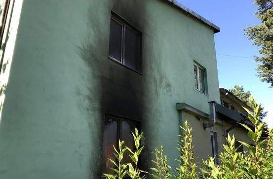Радикалы подожгли монастырь в Львовской области