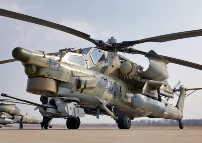 В Ставропольском крае завершилось учение отдельного вертолетного полка