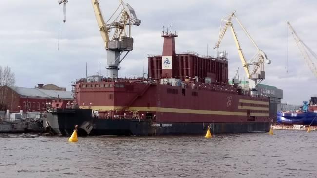 Балтийский завод завершает сооружение плавучего атомного энергоблока