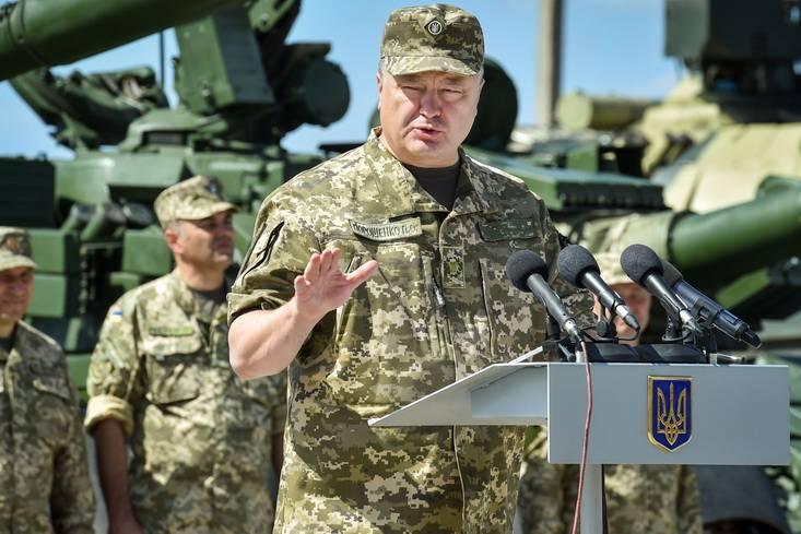 Порошенко: неменее 300 млн грн государство направит назакупку танков «Оплот»