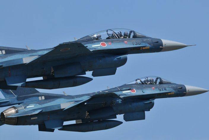 Самолеты ВКС РФ назвали первопричиной более нередких вылетов истребителей Японии