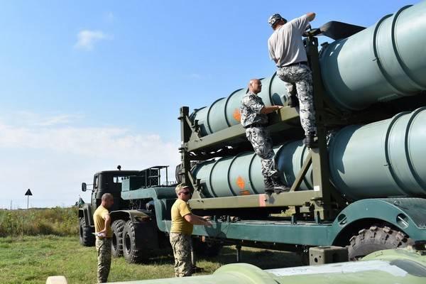 Зенитчики ВСУ готовят к боевым стрельбам С-300
