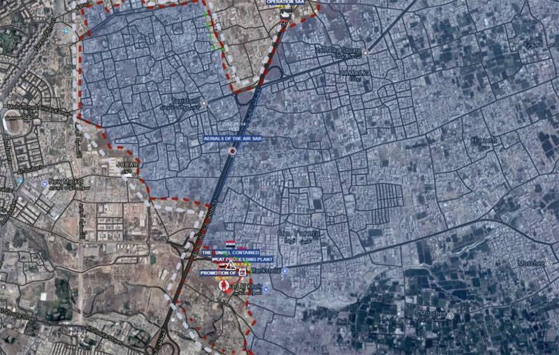 Почему сирийская армия не может освободить пригороды Дамаска?