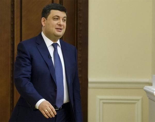 """Украинский премьер надеется на """"план Маршалла для Украины"""""""