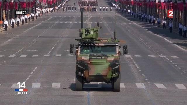 Франция продемонстрировала новую многоцелевую бронированную машину Griffon