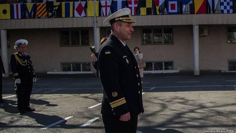 Украинский контр-адмирал без флота и погон ждёт передачи американских патрульных катеров