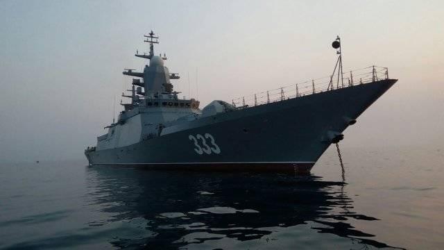 Корвет «Совершенный» передают ВМФ РФ