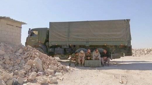 «Мустанги» в Сирии
