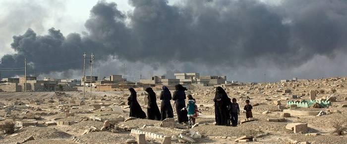 Гуманитарная катастрофа в Мосуле