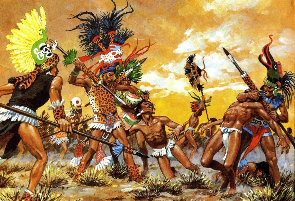 Картинки по запросу воины ягуары ацтеки картинки