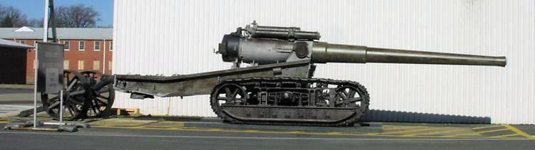 «Молот войны»: морская 7-дюймовая гусеничная пушка США Mk.2 1918