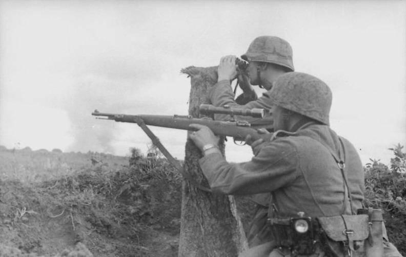 Рассказы об оружии. Карабин Mauser К98k