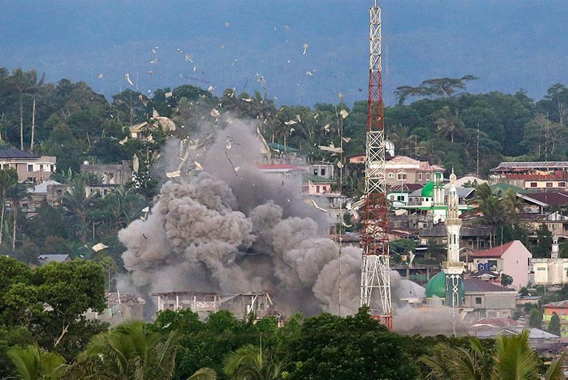 """Das Blut und der Tod von Maravi. Wird Duterte den """"Filipino ISIL"""" besiegen können?"""