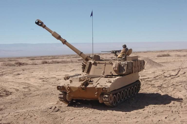 Американские 155-мм САУ Paladin закупают саудиты