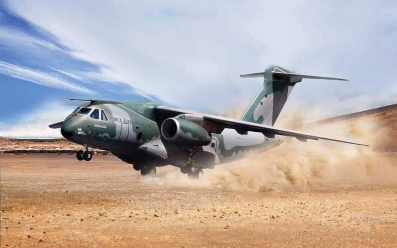 Бразильский Embraer КС-390 пытается покорить Алжир
