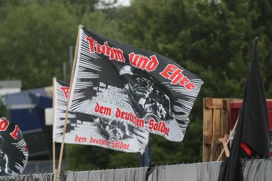 Нацистский шабаш в Тюрингии (ФРГ) собрал 6 тысяч человек