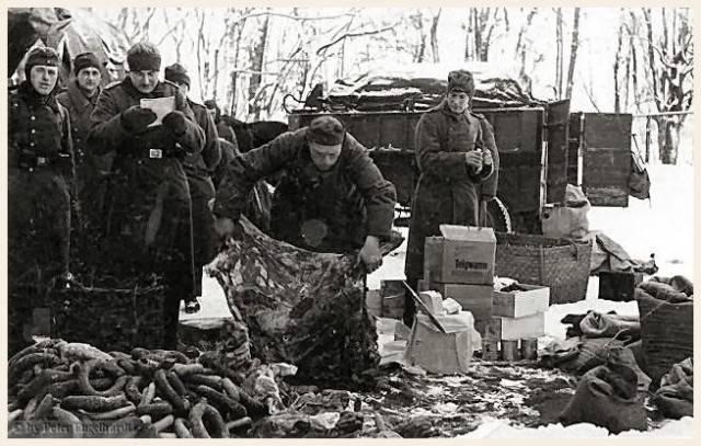 Рацион и туалет солдат вермахта