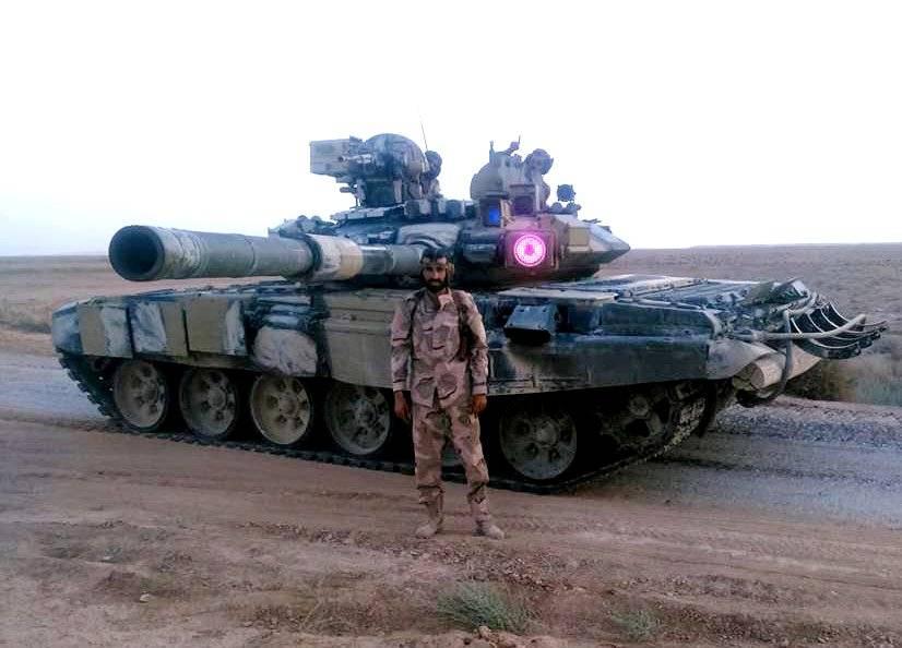 Российская Федерация поставит Ираку танки Т-90