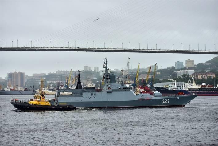 La Corvette «Perfect» a rejoint la flotte du Pacifique