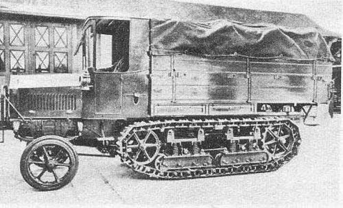 Многоцелевое шасси Marienwagen II и машины на его базе (Германия)