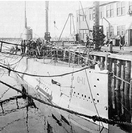 Подводные лодки O-class Group 2 (США)