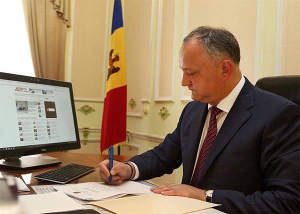 Додон: Если на Днестре вспыхнет новый конфликт, Молдавия прекратит существование